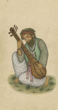 PORTRAIT OF A COURT MUSICIAN