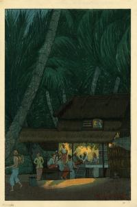"NIGHT SCENE ""B"" MALAYA"