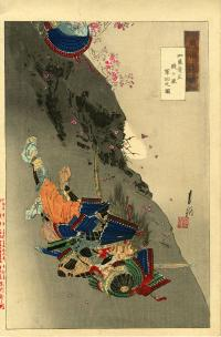 KATO KIYOMASA DISTINGUISHES HIMSELF IN THE BATTLE OF SENGATAKE