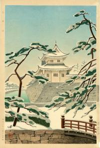 NIHO CASTLE IN SNOW