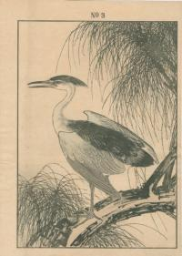 WEEPING WILLOW, GREY HERON
