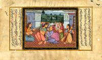 FOUR HAREM GIRLS ENTERTAIN A PRINCE