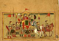 KING IN PROCESSION