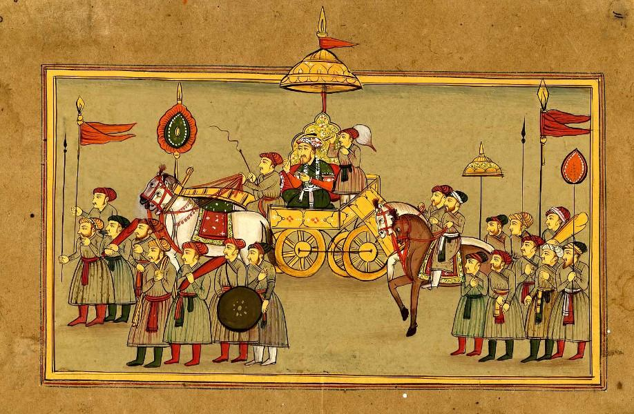 A ROYAL PROCESSION