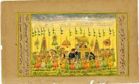 A LAVISH PROCESSION
